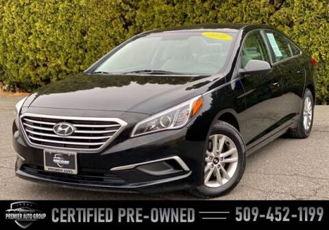 2016 Hyundai Sonata for sale at Premier Auto Group in Union Gap WA