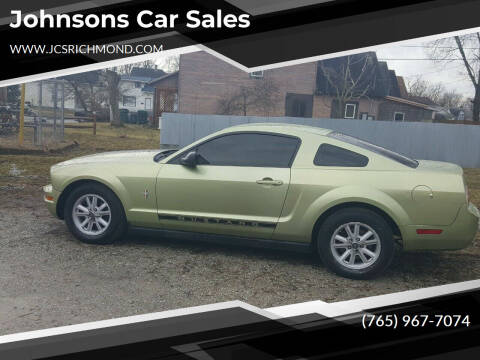 2005 Ford Mustang for sale at Johnsons Car Sales in Richmond IN