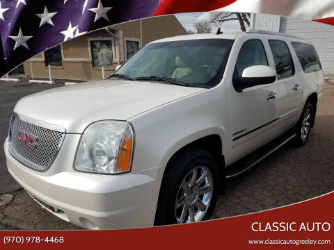 2011 GMC Yukon XL for sale at Classic Auto in Greeley CO