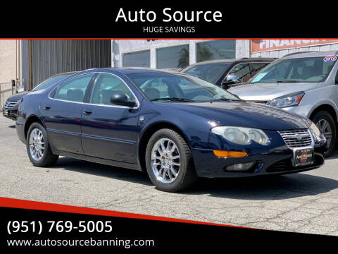 2001 Chrysler 300M for sale at Auto Source II in Banning CA