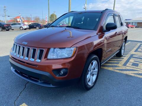 2012 Jeep Compass for sale at Auto America - Monroe in Monroe NC