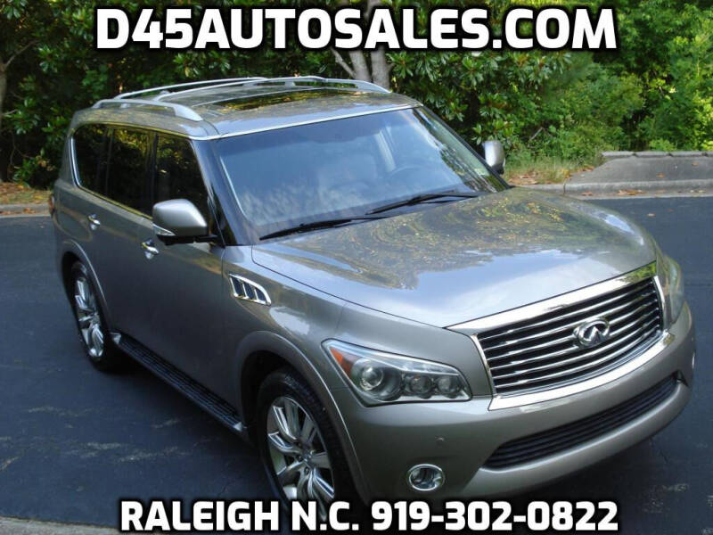 2012 Infiniti QX56 for sale at D45 Auto Brokers in Raleigh NC