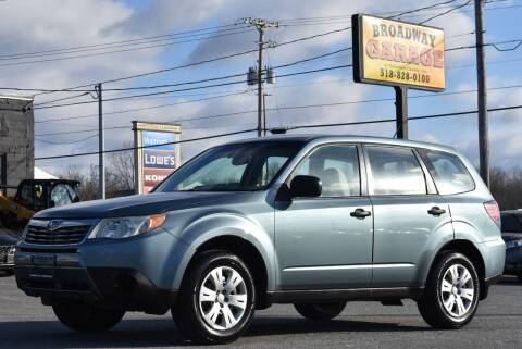 2010 Subaru Forester for sale at Broadway Garage of Columbia County Inc. in Hudson NY