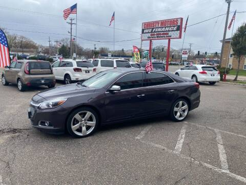 2015 Chevrolet Malibu for sale at Christy Motors in Crystal MN