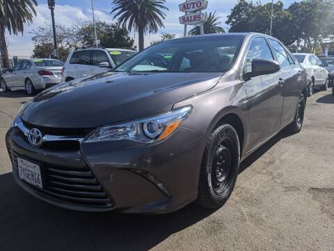 2017 Toyota Camry for sale at Convoy Motors LLC in National City CA