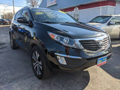 2011 Kia Sportage for sale at Peter Kay Auto Sales in Alden NY