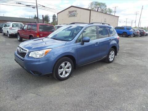 2015 Subaru Forester for sale at Terrys Auto Sales in Somerset PA