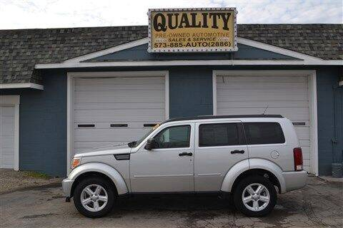 2008 Dodge Nitro for sale at Quality Pre-Owned Automotive in Cuba MO