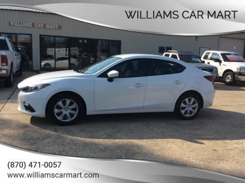 2015 Mazda MAZDA3 for sale at WILLIAMS CAR MART in Gassville AR