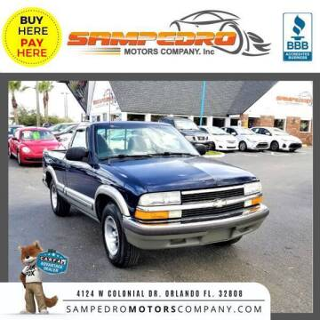 1999 Chevrolet S-10 for sale at SAMPEDRO MOTORS COMPANY INC in Orlando FL