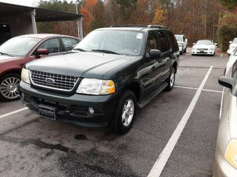 2004 Ford Explorer for sale at J & R Auto Group in Durham NC