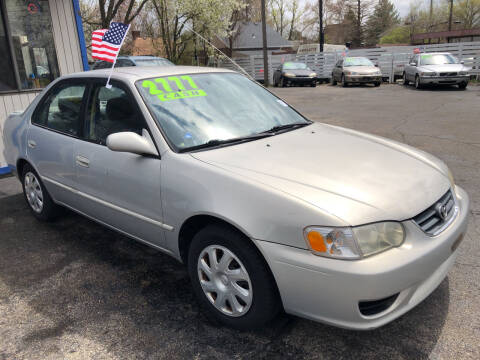 2001 Toyota Corolla for sale at Klein on Vine in Cincinnati OH