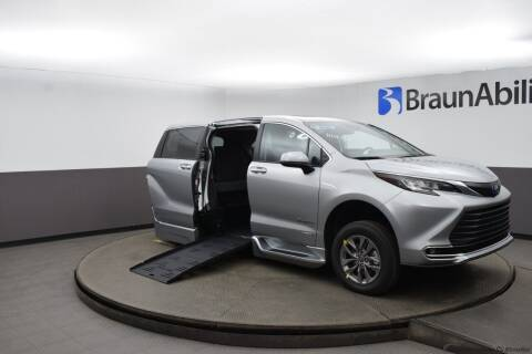 2021 Toyota Sienna for sale at Adaptive Mobility Wheelchair Vans in Seekonk MA