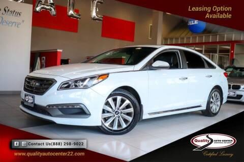 2017 Hyundai Sonata for sale at Quality Auto Center of Springfield in Springfield NJ