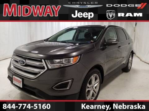 2017 Ford Edge for sale at MIDWAY CHRYSLER DODGE JEEP RAM in Kearney NE