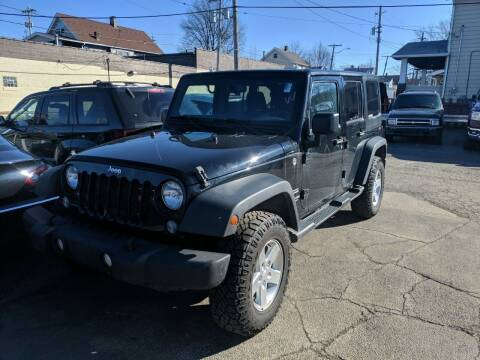 2014 Jeep Wrangler Unlimited for sale at Richland Motors in Cleveland OH