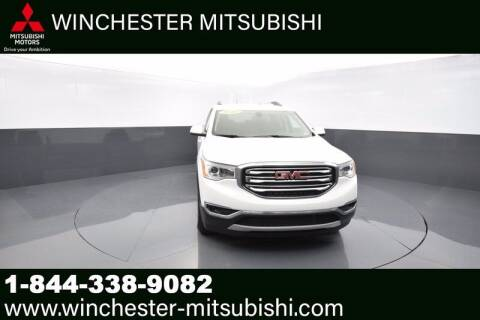2019 GMC Acadia for sale at Winchester Mitsubishi in Winchester VA