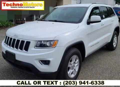 2014 Jeep Grand Cherokee for sale at Techno Motors in Danbury CT
