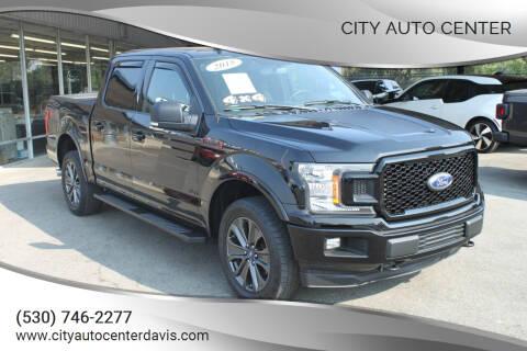 2018 Ford F-150 for sale at City Auto Center in Davis CA