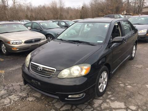 2007 Toyota Corolla for sale at Best Buy Auto Sales in Murphysboro IL