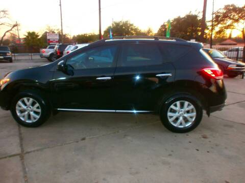 2011 Nissan Murano for sale at Under Priced Auto Sales in Houston TX