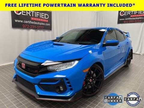 2021 Honda Civic for sale at CERTIFIED AUTOPLEX INC in Dallas TX