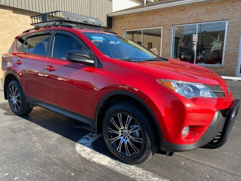 2013 Toyota RAV4 for sale at C Pizzano Auto Sales in Wyoming PA