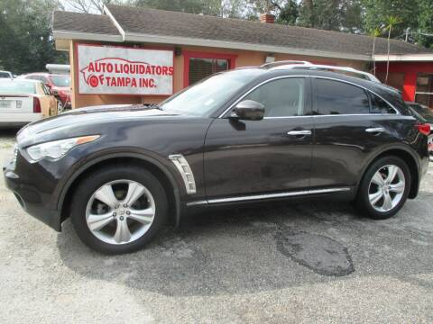 2011 Infiniti FX35 for sale at Auto Liquidators of Tampa in Tampa FL