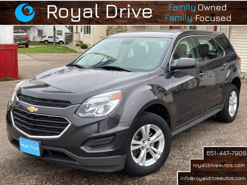 2016 Chevrolet Equinox for sale at Royal Drive in Newport MN
