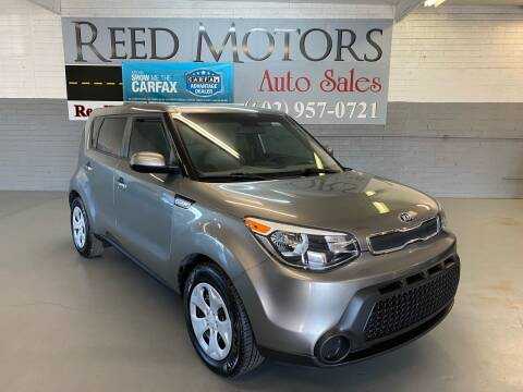 2015 Kia Soul for sale at REED MOTORS LLC in Phoenix AZ