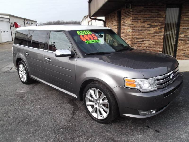 2010 Ford Flex for sale at Dietsch Sales & Svc Inc in Edgerton OH