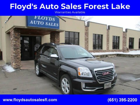 2016 GMC Terrain for sale at Floyd's Auto Sales Forest Lake in Forest Lake MN