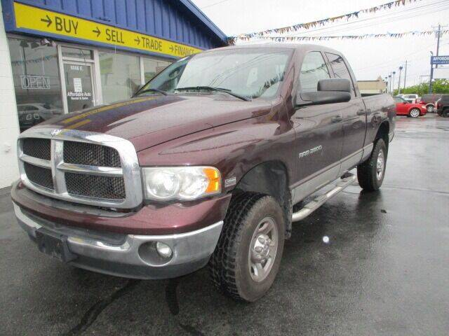 2005 Dodge Ram Pickup 2500 for sale at Affordable Auto Rental & Sales in Spokane Valley WA