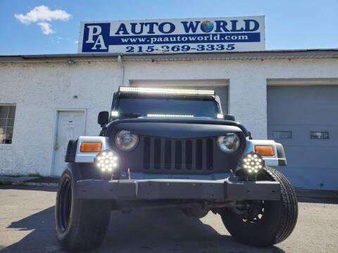 2006 Jeep Wrangler for sale at PA Auto World in Levittown PA