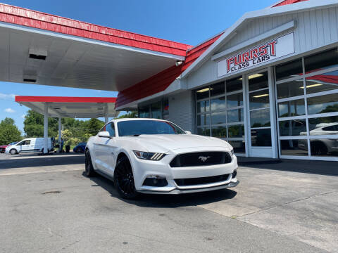2017 Ford Mustang for sale at Furrst Class Cars LLC in Charlotte NC