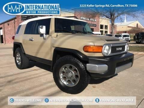 2013 Toyota FJ Cruiser for sale at International Motor Productions in Carrollton TX