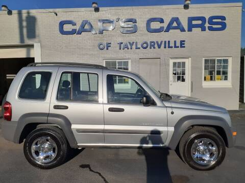 2003 Jeep Liberty for sale at Caps Cars Of Taylorville in Taylorville IL