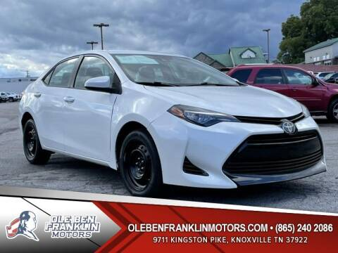 2017 Toyota Corolla for sale at Ole Ben Franklin Motors Clinton Highway in Knoxville TN