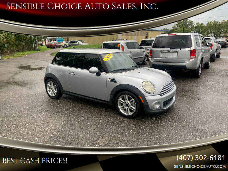 2011 MINI Cooper for sale at Sensible Choice Auto Sales, Inc. in Longwood FL