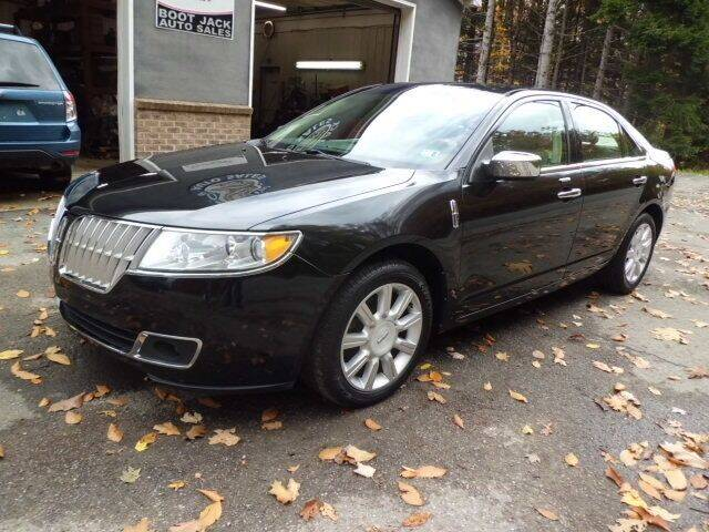 2012 Lincoln MKZ for sale at Boot Jack Auto Sales in Ridgway PA
