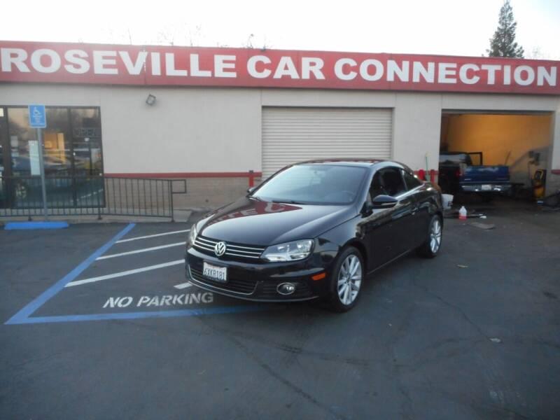 2013 Volkswagen Eos for sale at ROSEVILLE CAR CONNECTION in Roseville CA