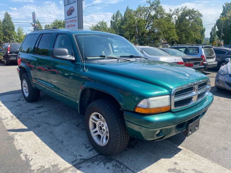 2003 Dodge Durango for sale at Blue Line Auto Group in Portland OR