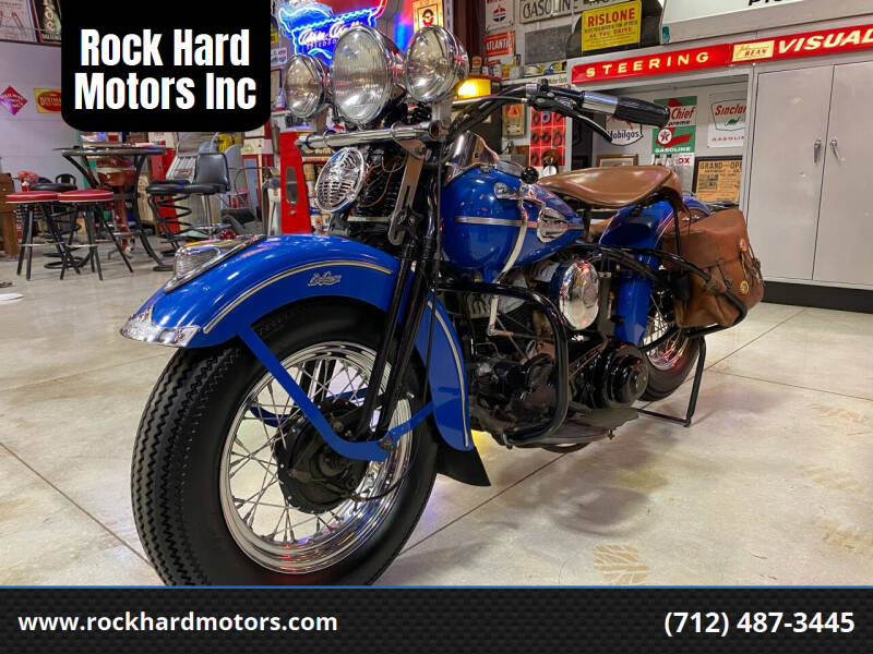 1941 Harley Davidson WLD for sale at Rock Hard Motors Inc in Treynor IA