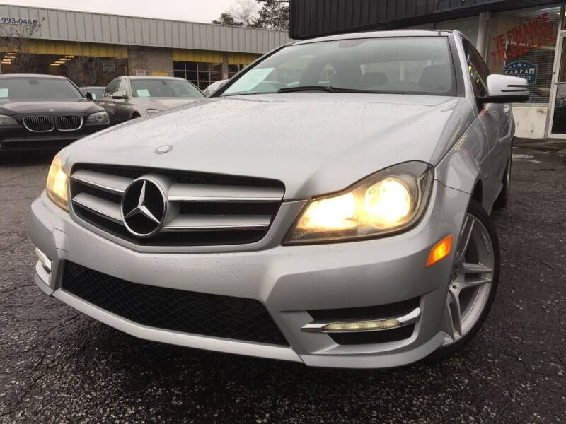 2012 Mercedes-Benz C-Class for sale at Car Online in Roswell GA
