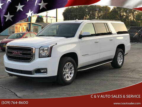 2019 GMC Yukon XL for sale at C & V Auto Sales & Service in Moses Lake WA