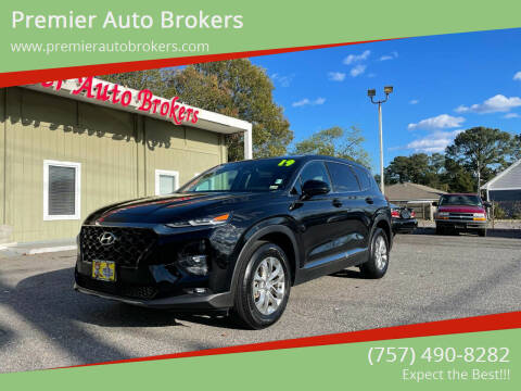 2019 Hyundai Santa Fe for sale at Premier Auto Brokers in Virginia Beach VA