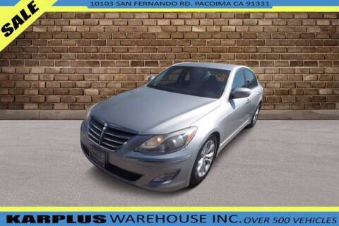 2012 Hyundai Genesis for sale at Karplus Warehouse in Pacoima CA