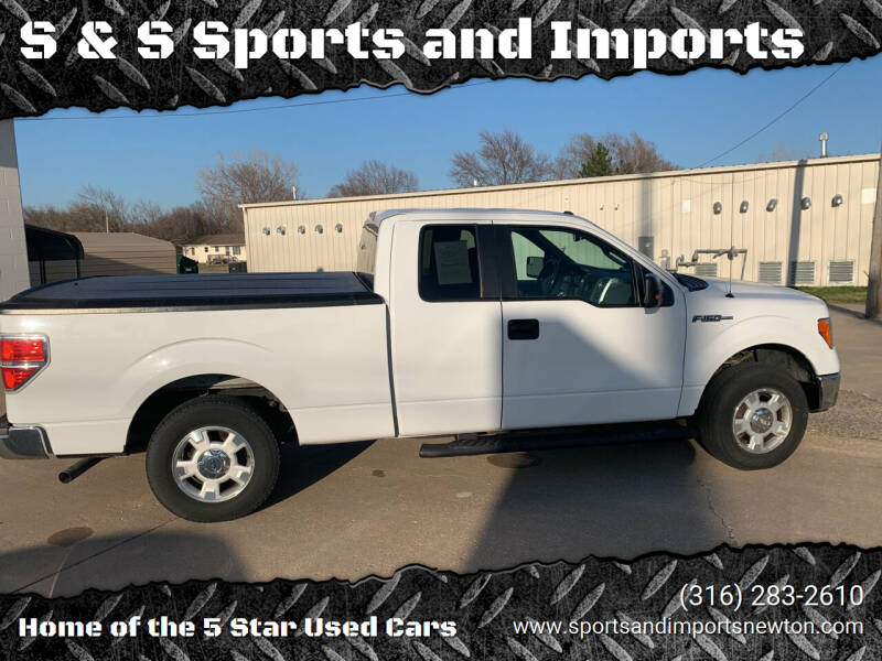 2013 Ford F-150 for sale at S & S Sports and Imports in Newton KS