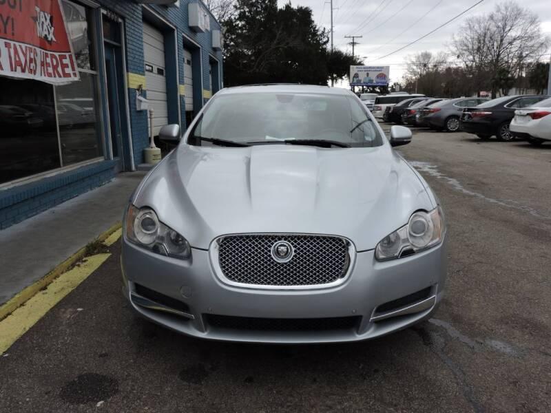 2010 Jaguar XF for sale at Drive Auto Sales & Service, LLC. in North Charleston SC