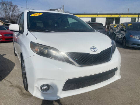 2011 Toyota Sienna for sale at Unique Auto Group in Indianapolis IN